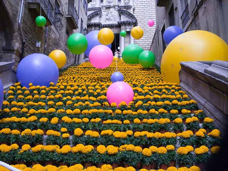 festival fleurs girona