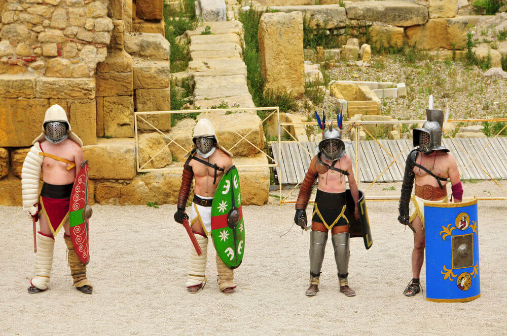 gladiateurs festival tarragona