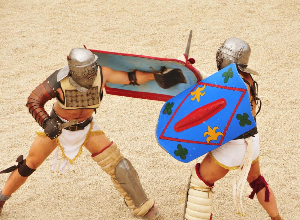 gladiateurs tarragona festival