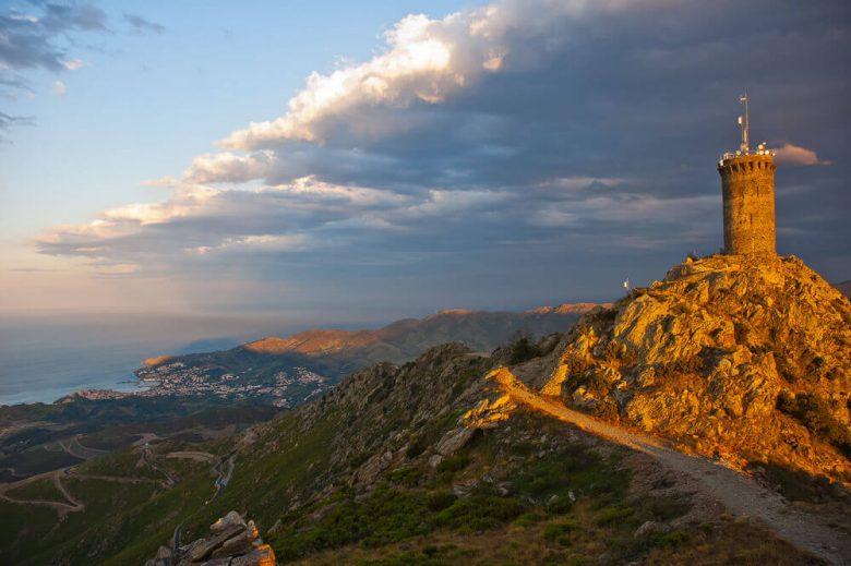 Argelès panorama vue catalogne