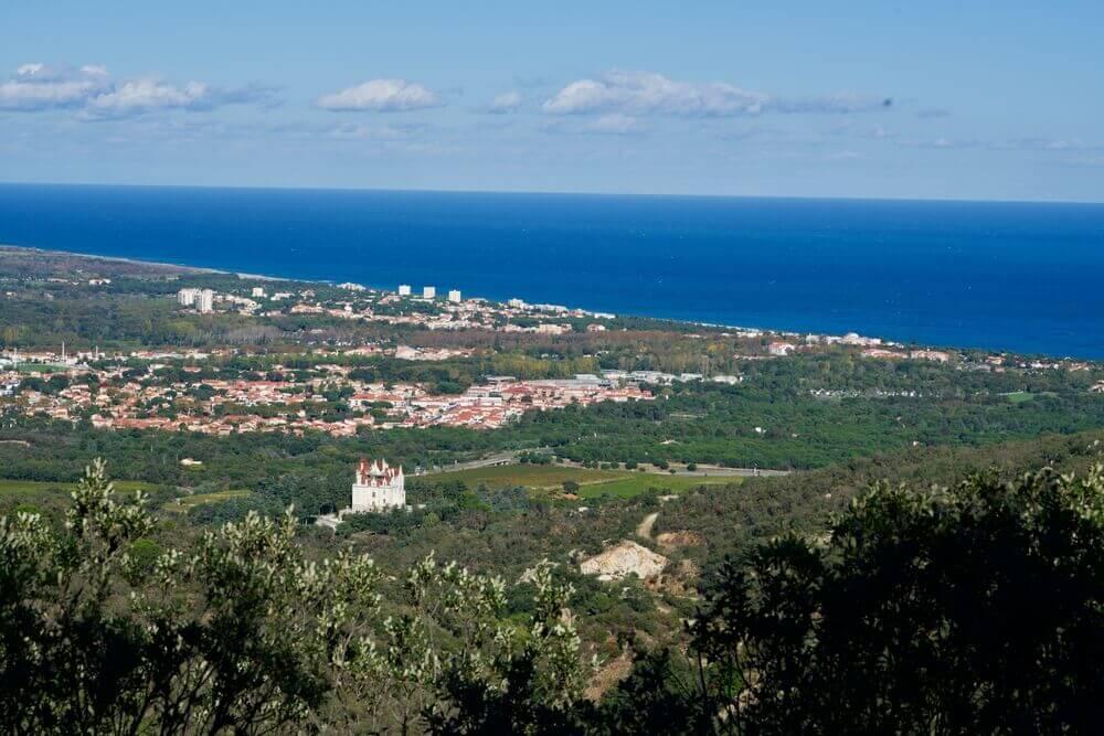 Argelès vue paysage