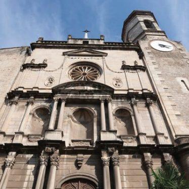 Eglise monument Olot Saint esteve