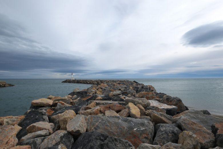 Barcares paysage mer