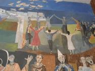 peinture murale sardane