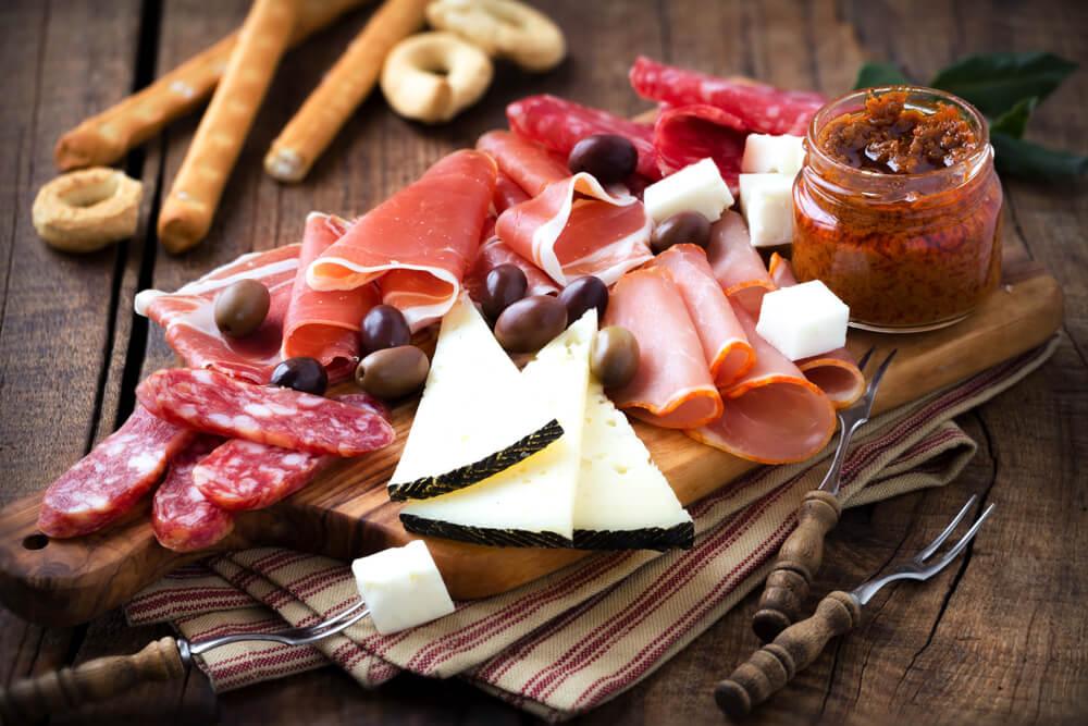 apéritif charcuterie fromage