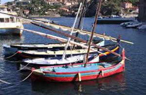 Barque catalane mer