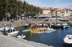 mer plage barque catalane