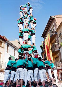 castells tradition danse catalogne