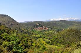 Paysage nature Castelnou