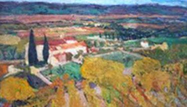 tableau art Céret