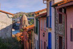 collioure village maisons catalogne