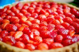 desset fraise tarte fruit