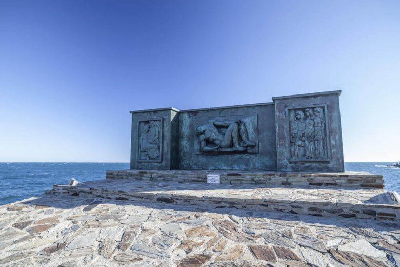 monument aux mort mer Banyuls