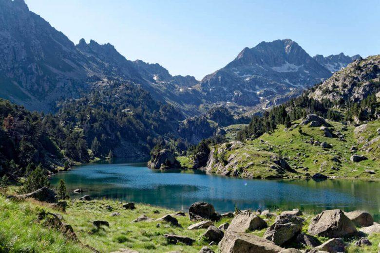 lac nature parc aiguestortes