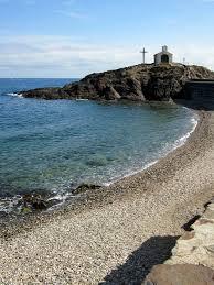 littoral plage collioure