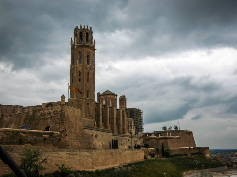 Lérida architecture chateau