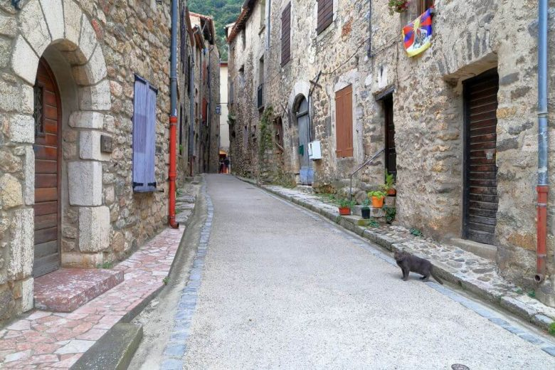 rue de Villefranche de Conflent