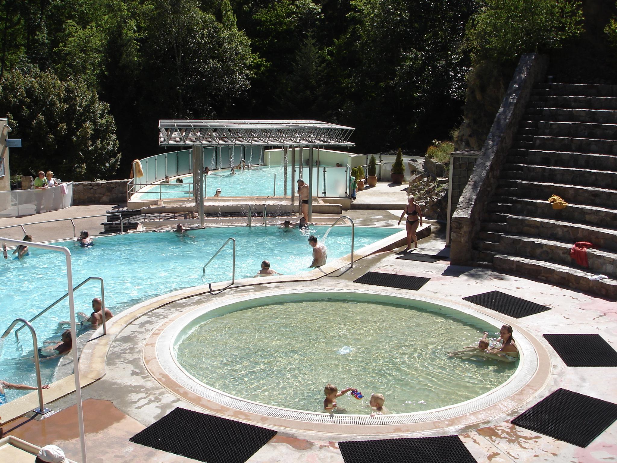 Saint Thomas Bains eau chaude