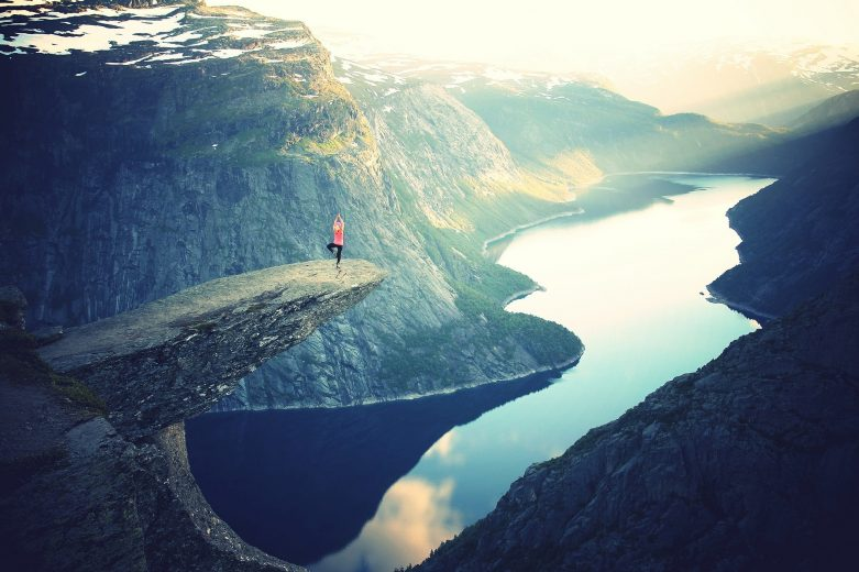 yoga montagne extreme