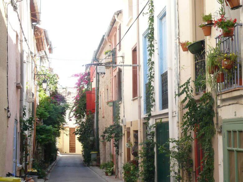 Argelès rue ville catalogne