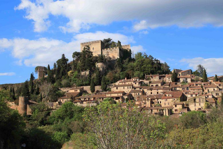 vue village nature Castelnou
