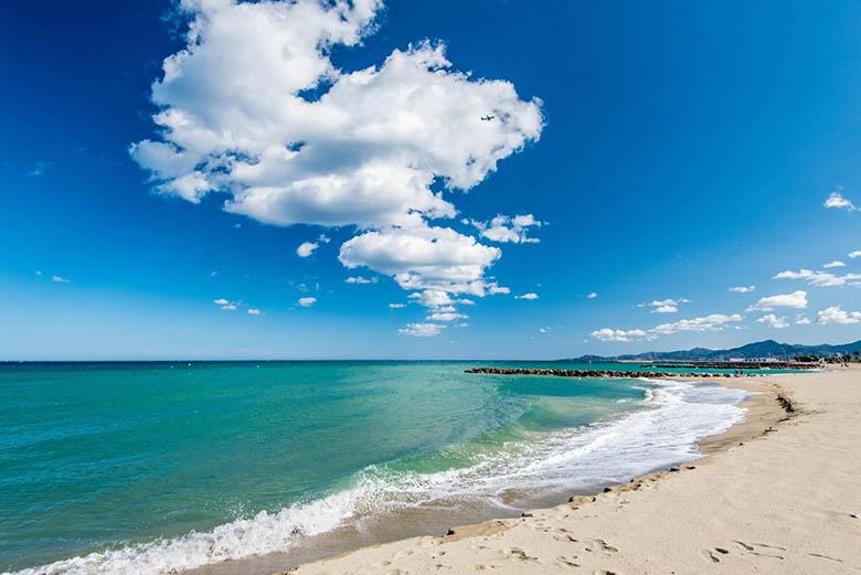 grande plage sud de la france
