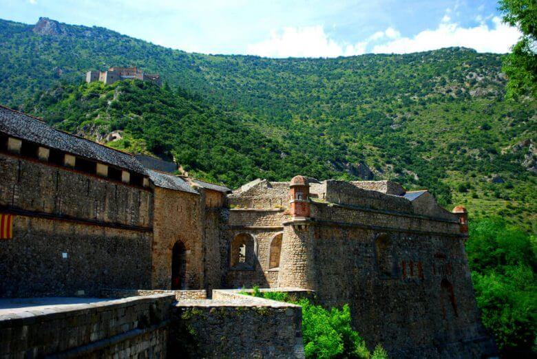 remparts château villefranche