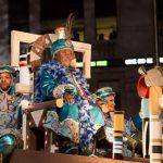 La cabalgata de los reyes magos (parade des rois mages)