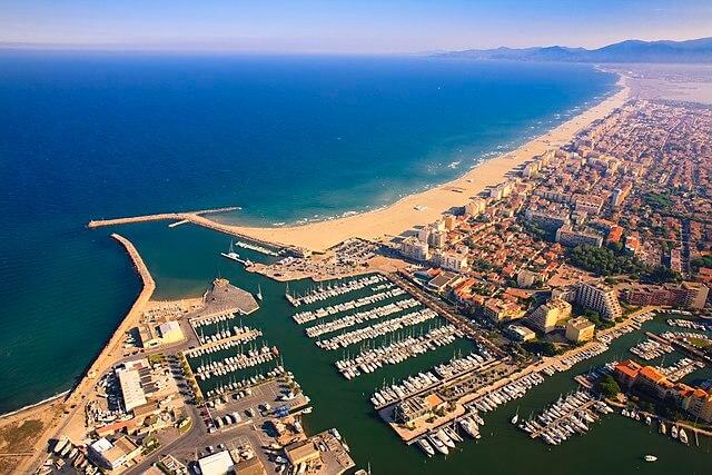 Vues panoramiques et aériennes bord de mer PO 66
