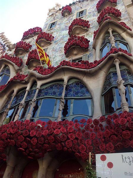 sant jordi roses barcelone