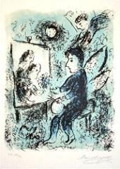 Marc Chagall peintre qui peint expo événement