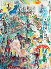 Marc Chagall cheval exposition céret