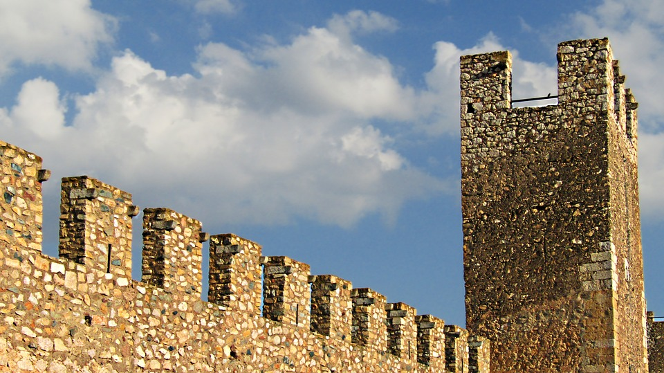 village médiéval catalunya espagne