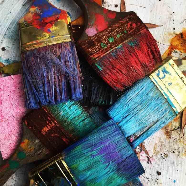 Pinceaux couleurs