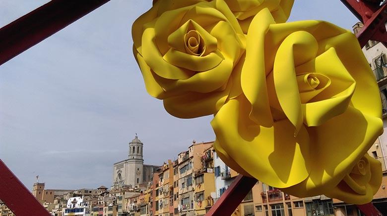événement catalogne fleurs girona