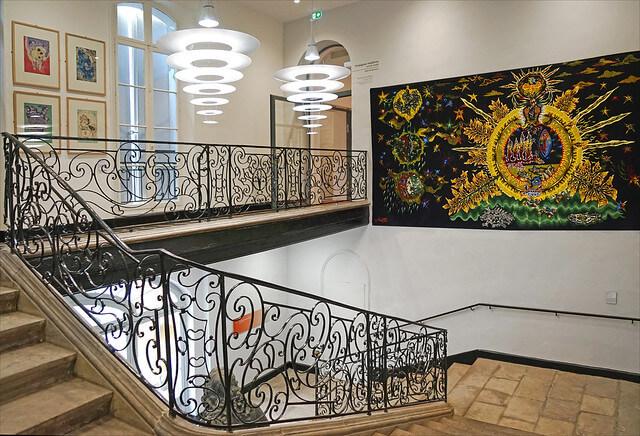 Tableau étages Musée Hyacinthe Rigaud Perpignan