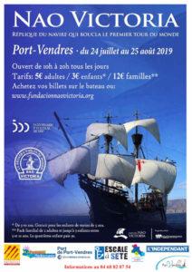 Port Vendres bateau pays catalan informations
