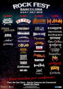 festival musique hard rock barcelone
