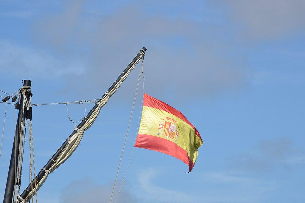 drapeau Espagne bateau Catalogne