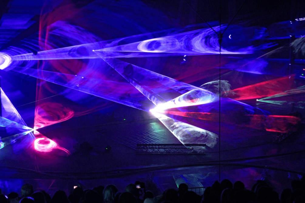 scène lumières electro techno Festival Sonar Barcelona Catalogne Sud