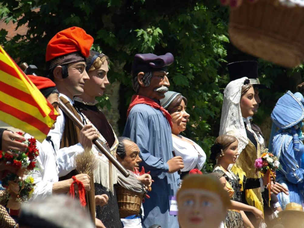 figures historiques tradition catalogne pays catalan Pyrénées Orientales