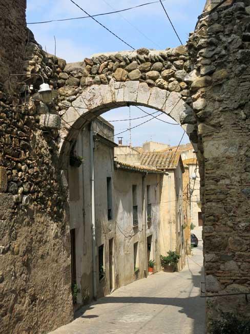 Patrimoine architectural Peralada Espagne