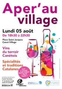 Soirée événement vin tapas musique Canet en Roussillon Catalogne