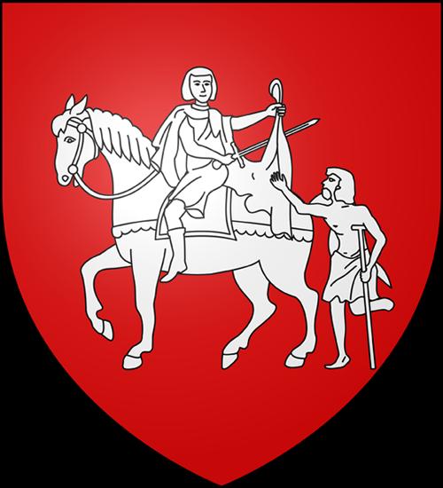 Blason village Casteil Pyrénées Orientales