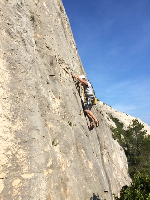 Escalade rocher Pyrénées Orientales