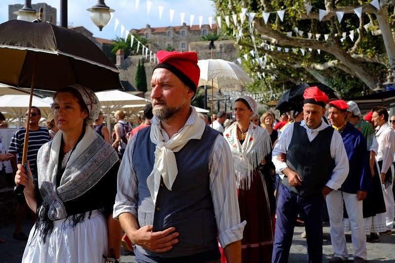 tradition défilé pays catalan été