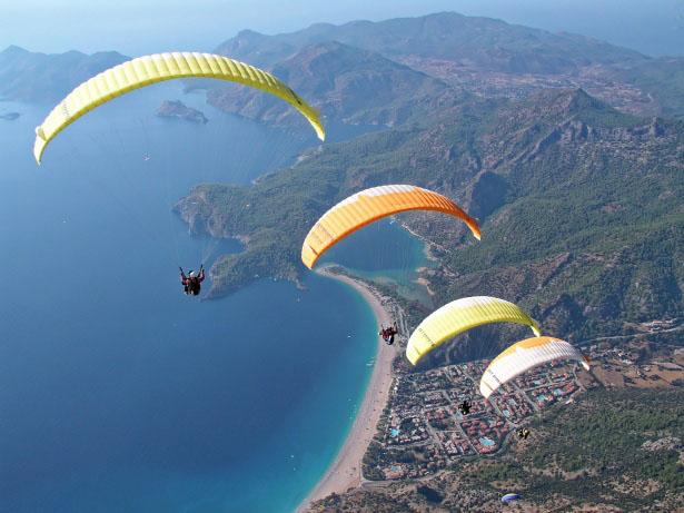 Sport aérien littoral Catalogne du Nord
