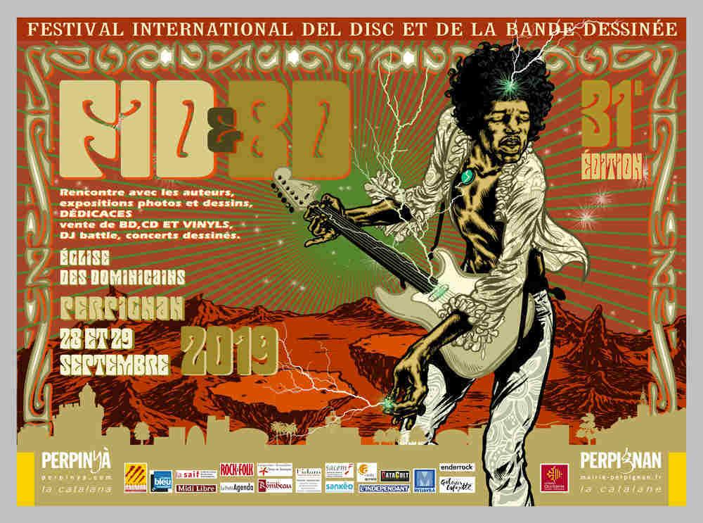 visuel festival FID BD musique