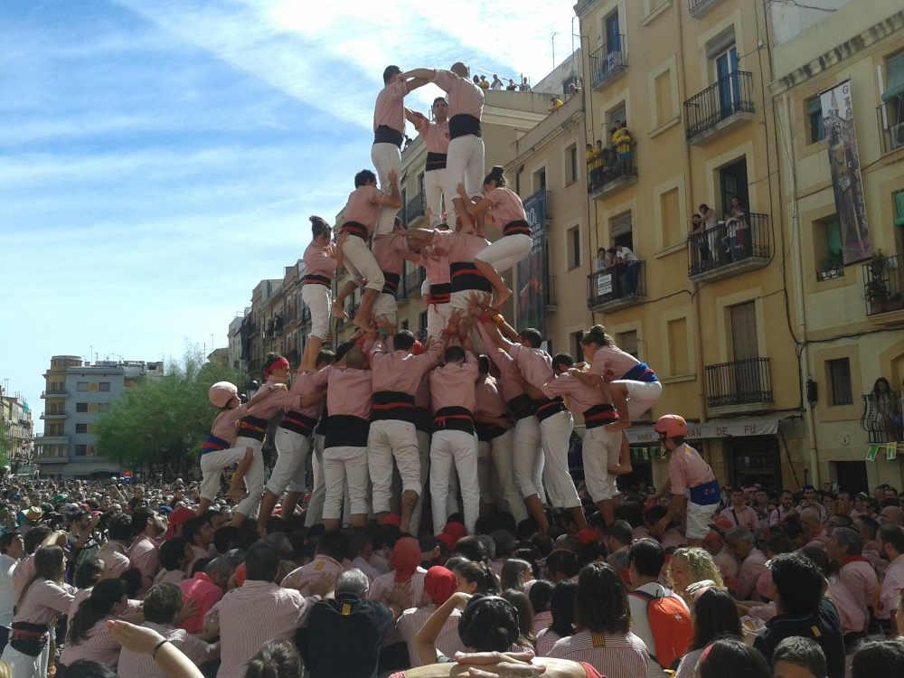 castellers catalunya tradition espagne