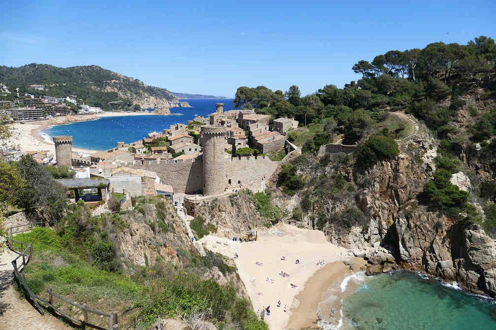 Plages côte catalane